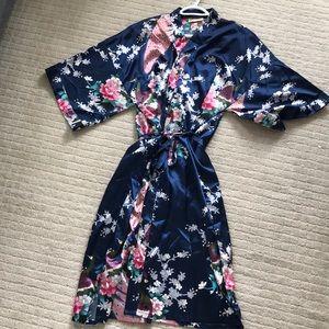 Dresses & Skirts - Japanese kimono traditional peacock pattern